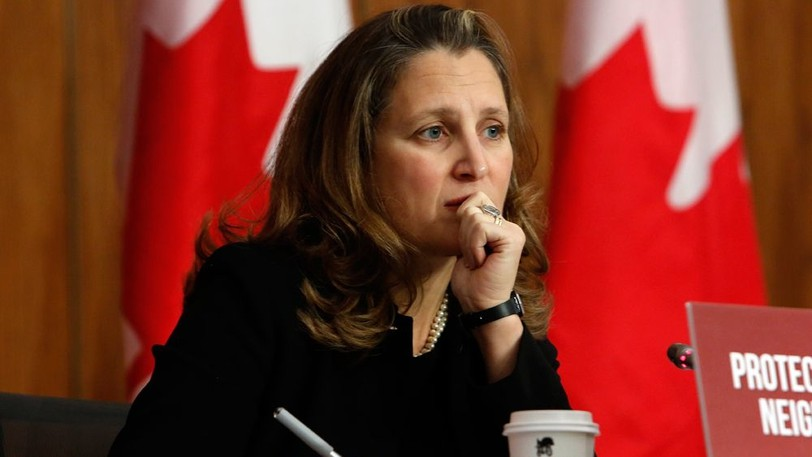Liberal candidate Chrystia Freeland's Twitter account recently posted an edited video of Conservative Leader Erin O'Toole speaking about health care, which Twitter later flagged as manipulated.