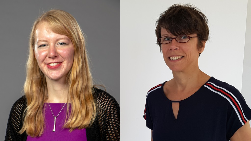 Audrey Arsenault, left, of Campbellton and Sylvie Pilotte of Dalhousie were two of 10 artists chosen to be artists-in-residence at provincially-owned sites this summer. Arsenault will be at Sugarloaf Provincial Park from Aug. 11 to 15, while Pilotte will be at Mount Carleton Provincial Park from Aug. 25 to Aug. 29 as part of the program, called Fresh AIR.