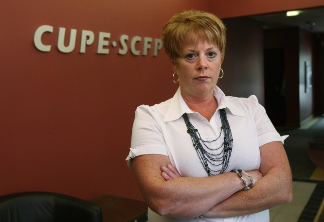 Norma Robinson, president of NBCHU CUPE Local 1252.