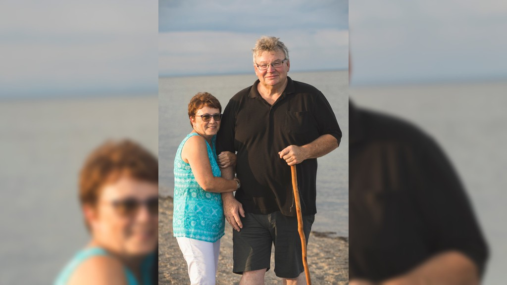 Former Bathurst city councillor Keith Loupelle is being remembered for his big personality and love for the community. Loupelle died suddenly May 19. He is pictured with his partner Evelyn Doucet-Daigle.