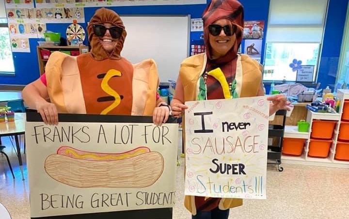 Students at Parkwood Heights Elementary in Bathurstwere welcomed to school on June 9 by cheers and staff holding signs thanking them for their hard work throughout the COVID-19 pandemic. The school also hosted a barbecue, free ice cream shop and red carpet for Student Appreciation Day.