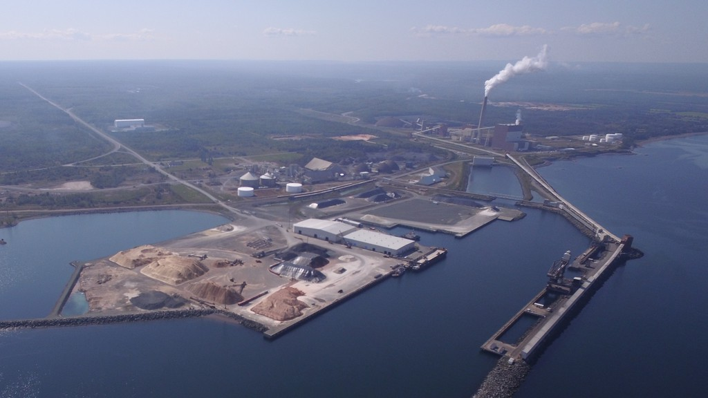 The Belledune Port Authority is continuing the $34 million expansion of the port with Phase 2 happening this year. The work will start connecting two of the port's terminal's to allow them to load and offload cargo more efficiently.