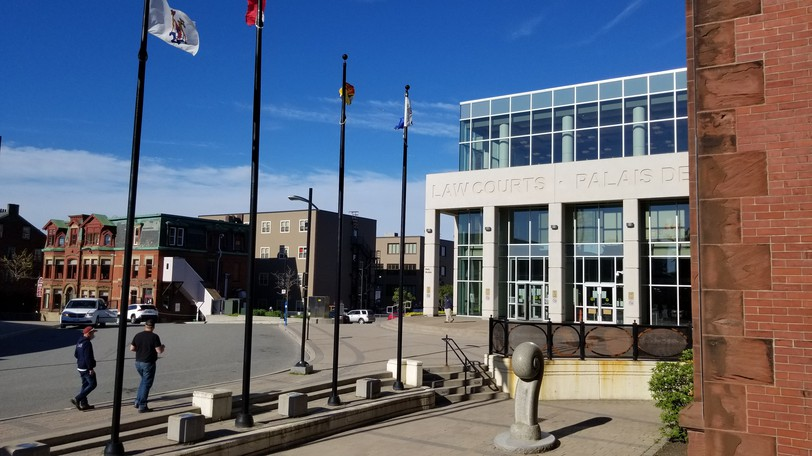The Saint John Law Courts are pictured in this file photo.
