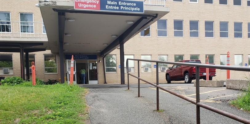 Oromocto Public Hospital.