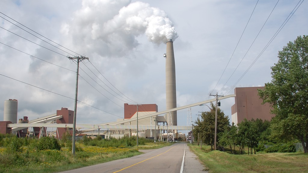 Pictured is the Belledune Generating Station.
