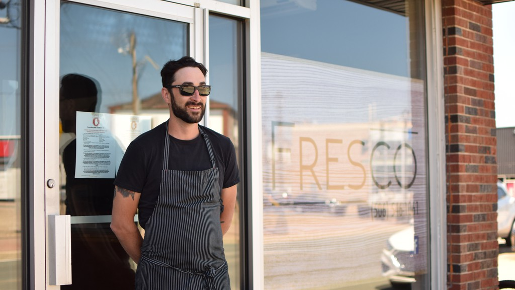 Joel Aubie is looking forward to the return of tourism to the region. His business, Fresco Kitchen, benefits from the Quebec tourists who tend to eat later in the evening, but it was the local community that got the restaurant through the summer last year.