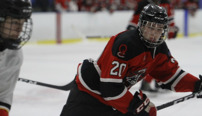 Moncton Flyers forward Preston Lounsbury of Salisbury was picked by the Moncton Wildcats in the fourth round of the 2021 QMJHL draft.