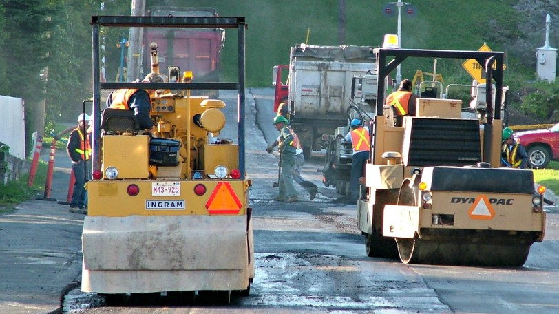 Re-surfacing work will reduce lanes of traffic on Paul Street, beginning Monday.