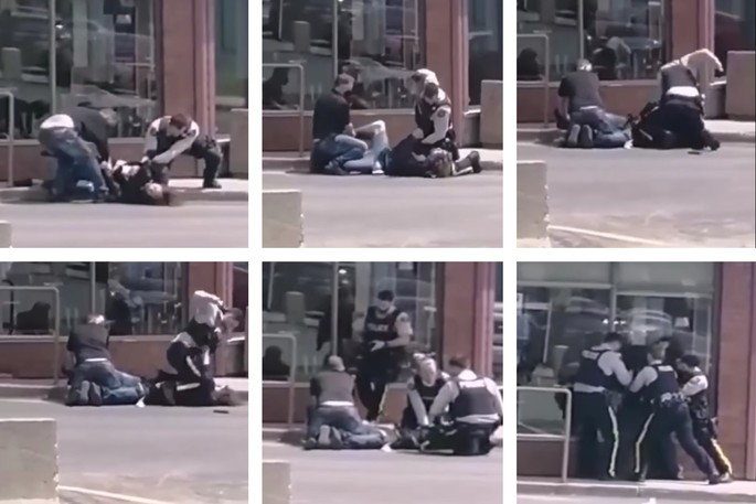 A warrant has been issued for the arrest of André Mercier, 30, after he failed for the second time to appear in Campbellton provincial court on a charge of breach of probation. Mercier was seen being arrested in a July 2 video that went viral, showing an RCMP officer apparently striking him about 20 times. A report prepared by Quebec's police watchdog BEI is in the hands of New Brunswick prosecutors for review.