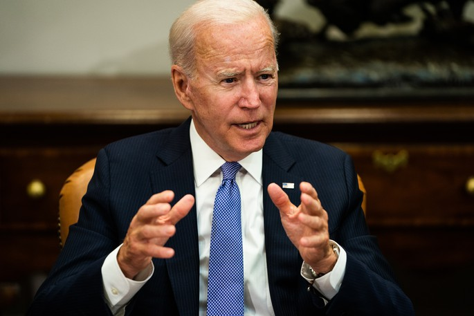 President Joe Biden announced theUnited States would offer booster shots to any adult American who had their second shot eight months ago. Biden is pictured at the White House on July 22.