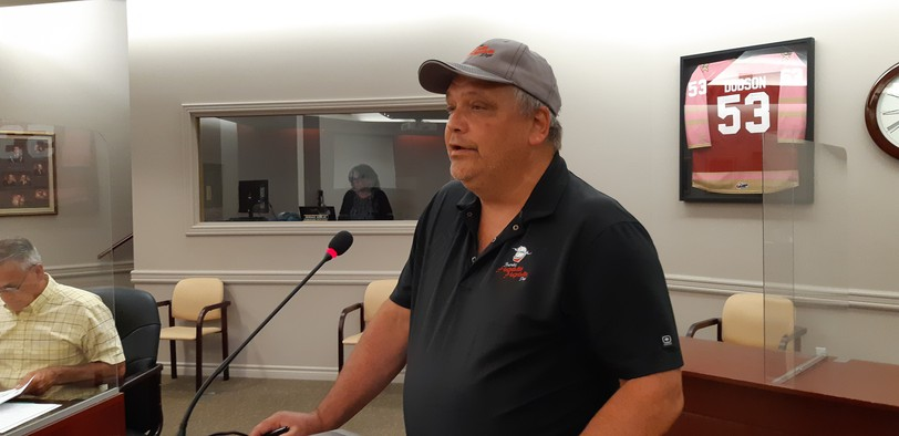 Hospitality Days President Mike Skerry made a presentation to Bathurst City Council during the committee of the whole meeting Aug. 9. Skerry said the festival committee will hold a fundraising event Oct. 30 at the K.C. Irving Regional Centre.