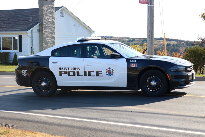 The Saint John Police Force says it arrested a 43-year-old woman and recovered a stolen vehicle on Friday.