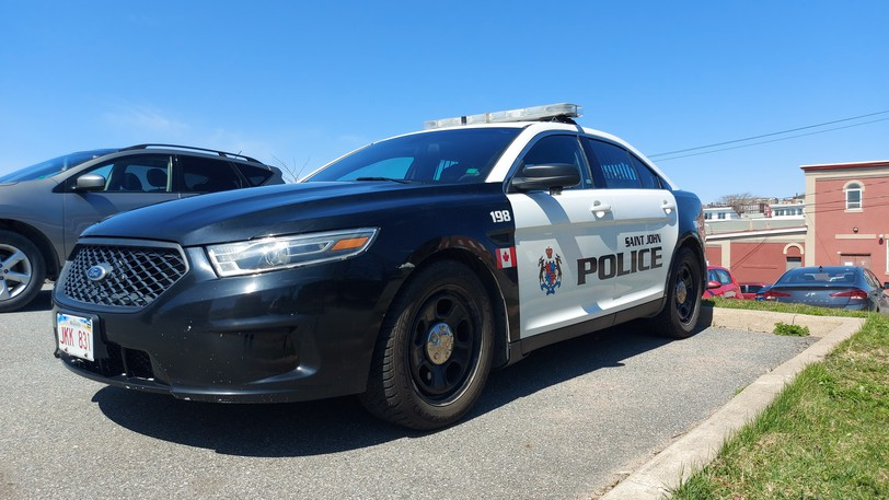 Saint John police arrested a man during a call regarding a domestic incident on Friday.