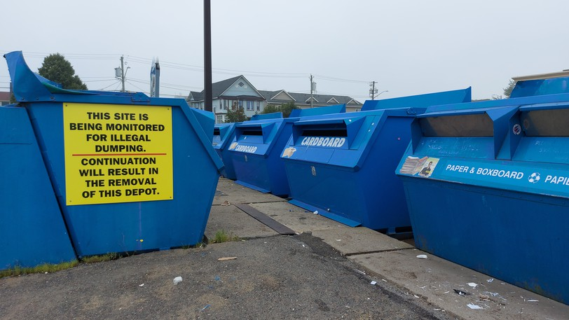 Blue bins will become a thing of the past in Saint John next year, as the city is poised to implement a curbside recycling program city-wide.