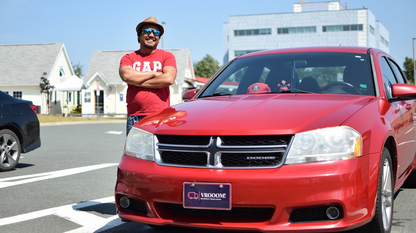 Jonathan Avila, owner of Vrooom!, a delivery service operating in the Bathurst area, said it's been business as usual since the province moved into the green phase of the recovery plan.