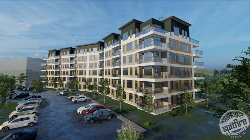 A five to six-building residential development is being proposed for Technology Drive.