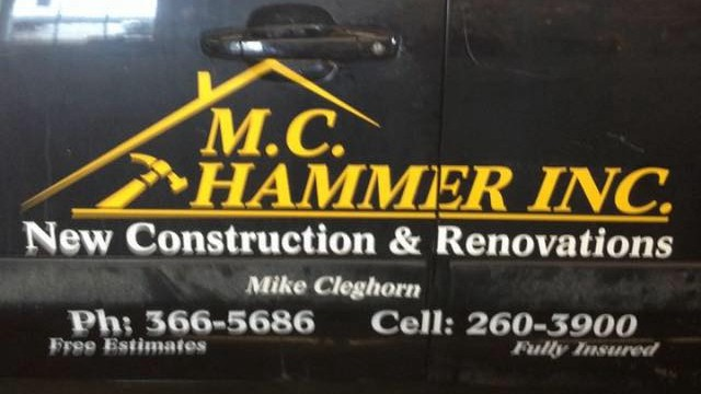 Harvey Station construction firm M.C. Hammer Inc. pleaded guilty to three WorkSafeNB charges.