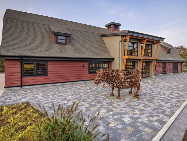Handout photo of the Red Barn at Tsawwassen development Southlands. Developers are offering enticing amenities as part of their marketing sales.  Developer Century Group has built a beach community at Boundary Bay with mixed-use buildings in the market district.