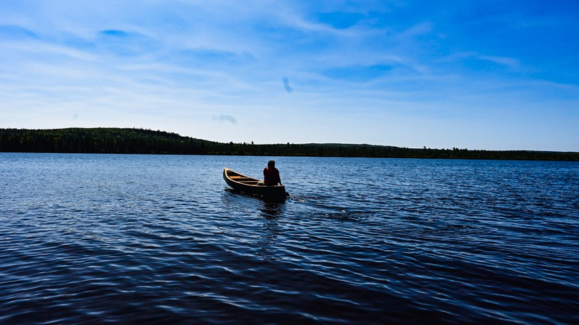 Wotstak (Woodstock) First Nation band councillor Andrea Polchiesis one of the members of the Wolastoqey Nation who has stayed on Miramichi Lake in an attempt to preventthe release of a chemicalmeant to eradicate invasive fish species smallmouth bass.