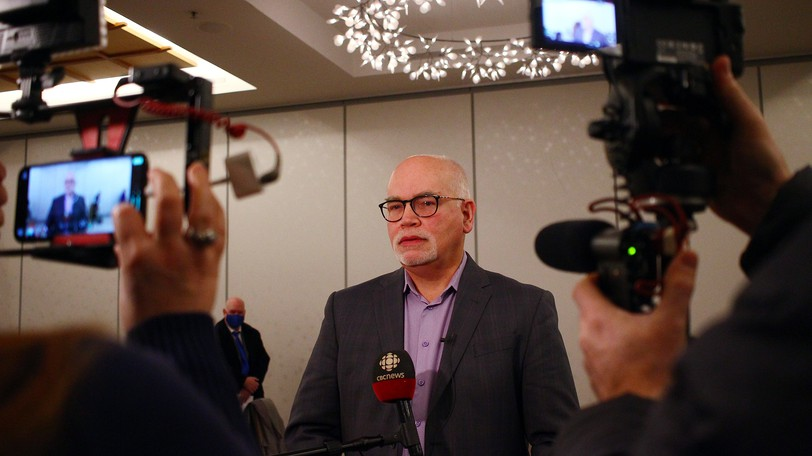John Wishart, CEO of the Greater Moncton Chamber of Commerce, pictured, is one of the business representatives in the province who thinks federal benefits may be discouraging people from taking up open jobs now that pandemic restrictions have been lifted. But a labour leader counters there is more to it than that.