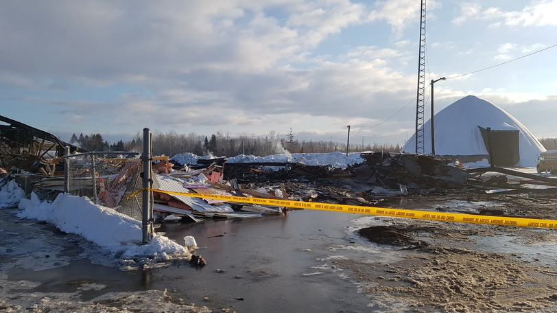 The Department of Transportation and Infrastructure depot in Dalhousie was destroyed by fire in February 2020. The province is rebuilding, but not in Dalhousie, so town council wants the land from the province. However a department spokesperson says the land has to be tested for contamination before any such discussions can be held.