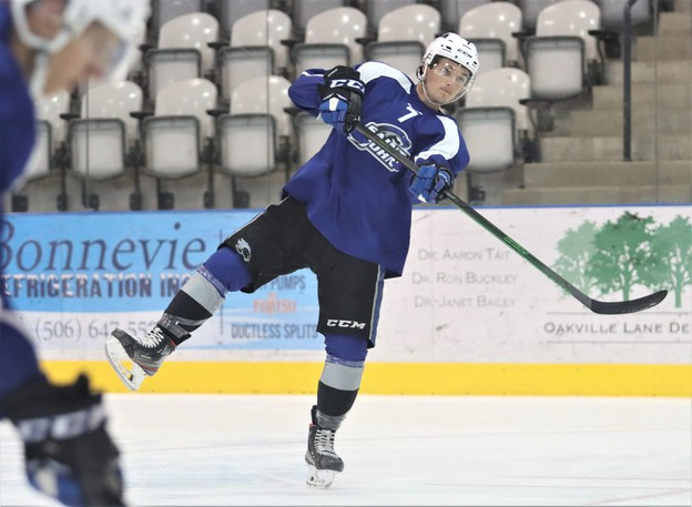 Saint John Sea Dogs second year forward Peter Reynolds has plenty motivating him this week for training camp and for the 2021-22 regular season.