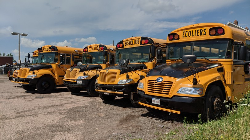 School buses will be back on the roads on Sept. 7 when students return to school in New Brunswick.