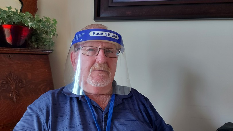 Veteran Lloyd Teakles says he's been denied access to the Saint John Regional Hospital for nearly a year, despite him carrying a doctor's note and a face shield, because he cannot wear a mouth-covering mask.