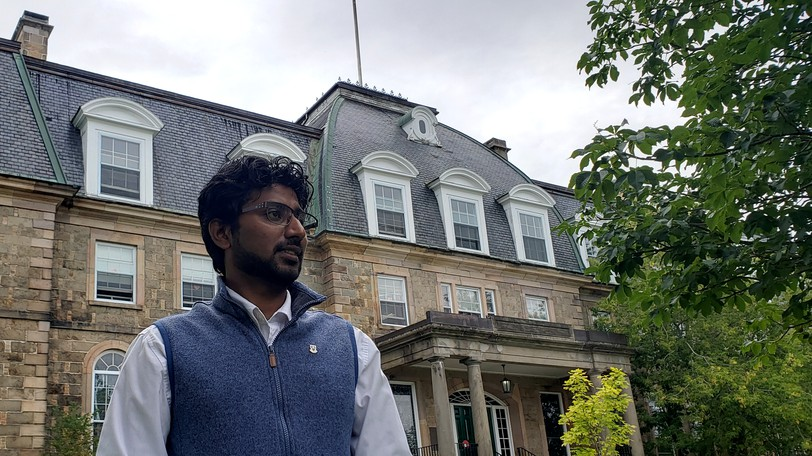 University of New BrunswickGrad Student Association vice president of societies and events Kaushalya Rathnayakesays it is a lot easier helping newcomers to Fredericton - Canadian and international - this year compared to the height of the pandemic in 2020.