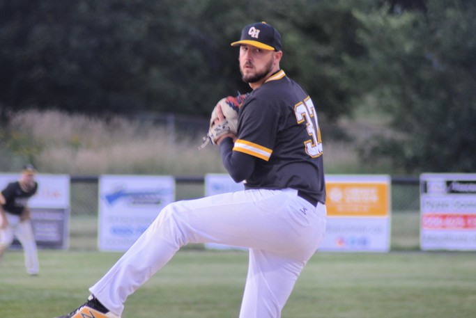 Craig Russell and the Chatham Head Tigers defeated the Caraquet Acadiens 19-8 Aug. 13 on the road and 10-0 Aug. 10 at home in their last two Miramichi Valley Baseball League regular-season games.