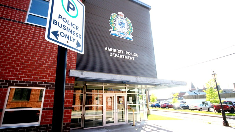 The Amherst Police Department is shown in a file photo.