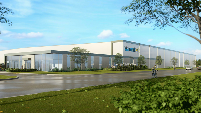 Walmart Canada has broken ground on a new 223,000-square-foot facility in Moncton.
