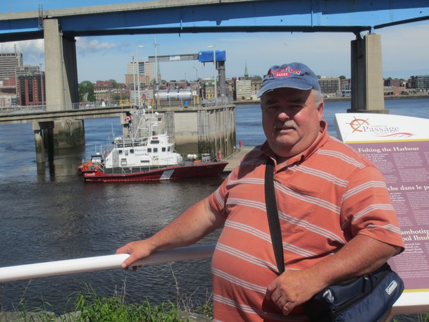 Brian Ballard is behind the Facebook group Saint John Sports Memories New Brunswick, an online forum to discuss sports stories of the past.