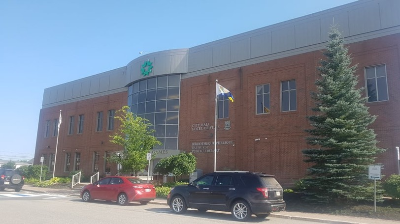 Bathurst city council approved tenders to maintain the city's water system during the regular public meeting Aug. 16. Pictured is city hall.