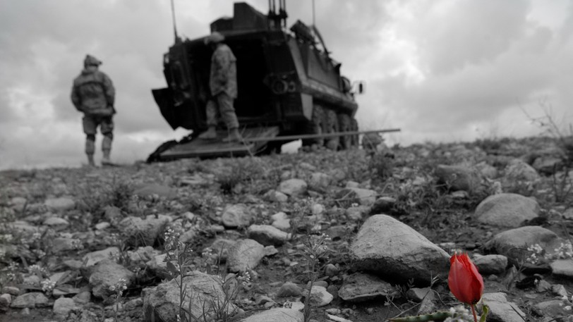 Canadian troops in Afghanistan. Bill Clarke says this week numerous western powers have tried to occupy and change Afghanistan but all have failed.
