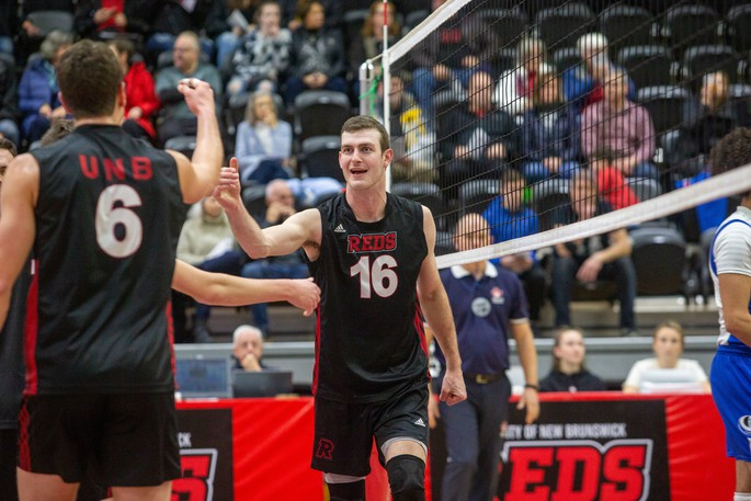 Team captain Brad Stewart will return to the UNB Reds men's volleyball team for a fifth season of eligibility.