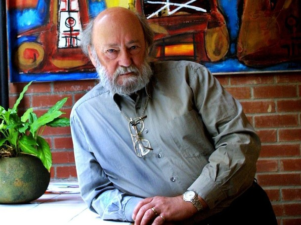 Film producer Rock Demers is seen in his office in Old Montreal in this 2002 photo.
