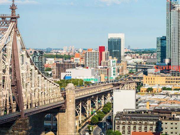 Long Island City in Queens.