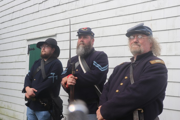 The 20th Maine Company 1 is an American Civil War reenactment group that focuses on the Atlantic Canadian history of the war.