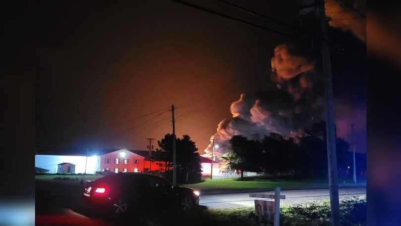 The Cap-Pelé Fire Department needed assistance from several other fire departments to put out a fire at a smokehouse in Petit-Cap early on Aug. 21.