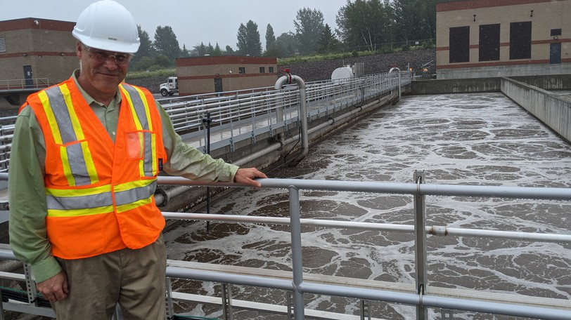 Kevin Rice, general manager of the TransAqua wastewater treatment plant on Hillsborough Road in Riverview, says oil and chemicals got into the system last week, causing an expensive cleanup estimated at nearly $20,000.