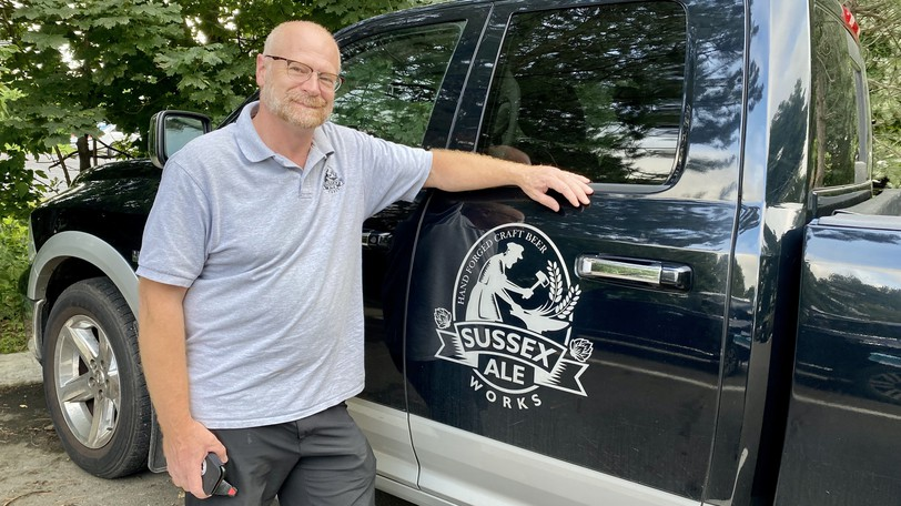 Sussex Ale Works co-owner Rick Lockhart said it 'feels good' now that Sussex Town Council has approved a pair of bylaw amendments to allow his plans to convert the former Buchanan's Furniture and Appliance building at 165 St. George Street into a brewery.