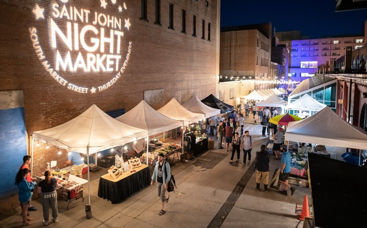 The Saint John Night Market is hosting a street party on Sept. 2 to celebrate the final market of the summer and a successful season.