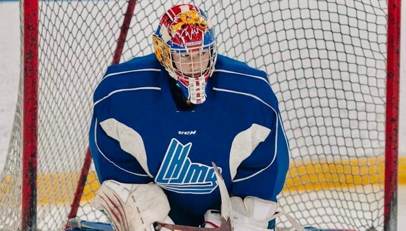 Moncton's Nicholas Sheehan played as a 17-year-old rookie goaltender with the Moncton Wildcats last season.