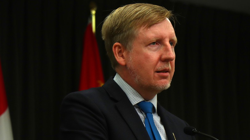 Minister of Education Dominic Cardy is pictured.
