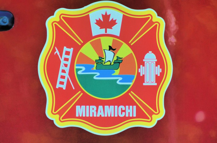 The Miramichi Fire Department rescued four people from the Miramichi River in the Gordon's Wharf area in Lower Newcastle Tuesday after the raft they were floating on drifted toward Miramichi Bay.