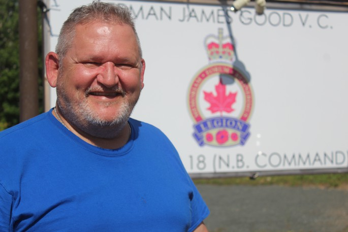 Eugene Godin, president of the Royal Canadian Legion Herman J. Good V.C. Branch No. 18 in Bathurst, said the legion had a soft opening at its new location on Bridge Street Aug. 15, and is now open to its members and the public.