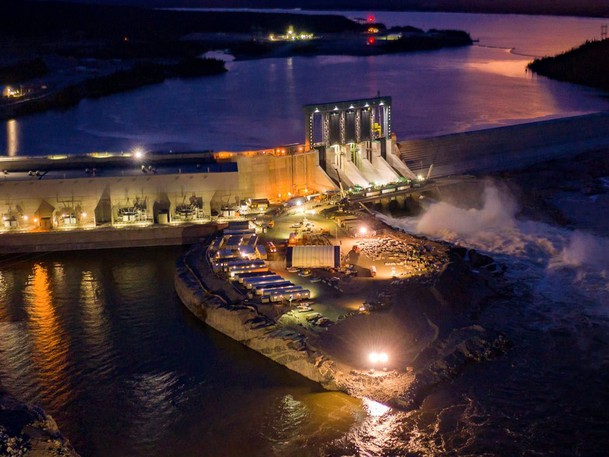 The Muskrat Falls generating facility in Labrador. While the project has been derided as expensive and poorly managed, columnist Herb Emery argues we need to rethink our evaluation of this and other projects if we want to encourage economic development.