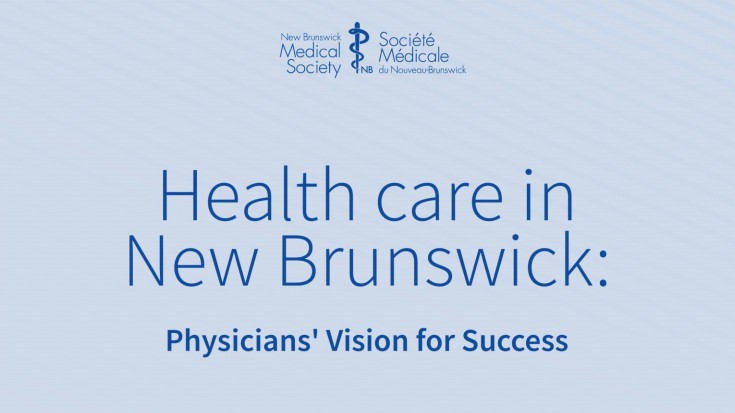 The New Brunswick Medical Society has submitted 57 recommendations to the Higgs government that call for significant changes to improve the health system and patient care in the province.