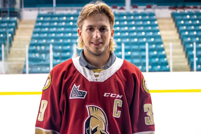 Logan Chisholm has been named the new captain of the Acadie-Bathurst Titan for the upcoming 2021-22 Quebec Major Junior Hockey League season.